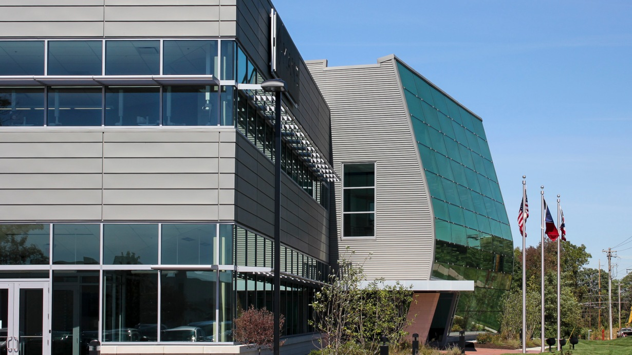 Mane Inc North American Headquarters Metal Spotlight